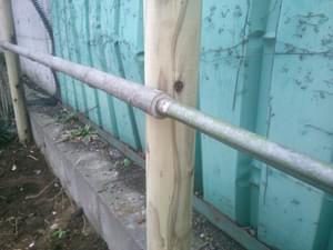 竹材の差込延長