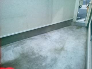 施工前のコンクリート空間