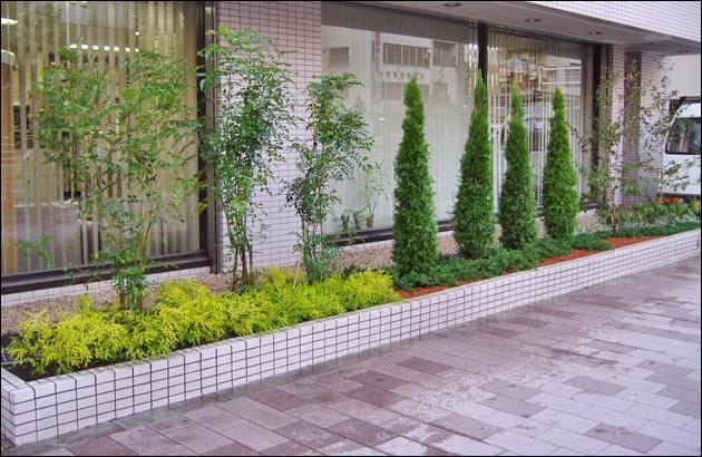 色彩・雰囲気を大切に考えた植栽リフォーム