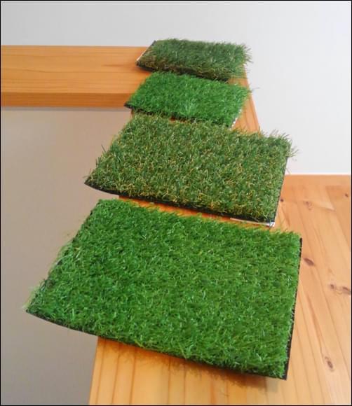 ラインナップも豊富な人工芝