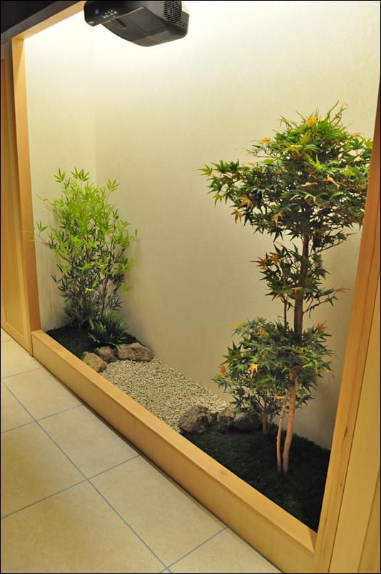エントランスに施す庭デザイン