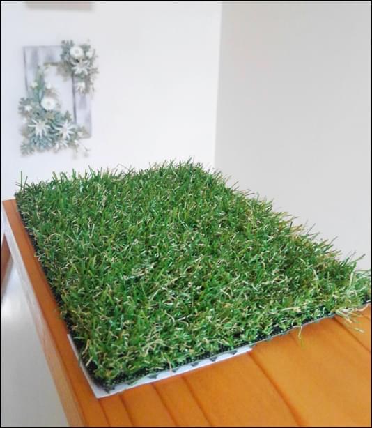 精巧な作りの人工芝