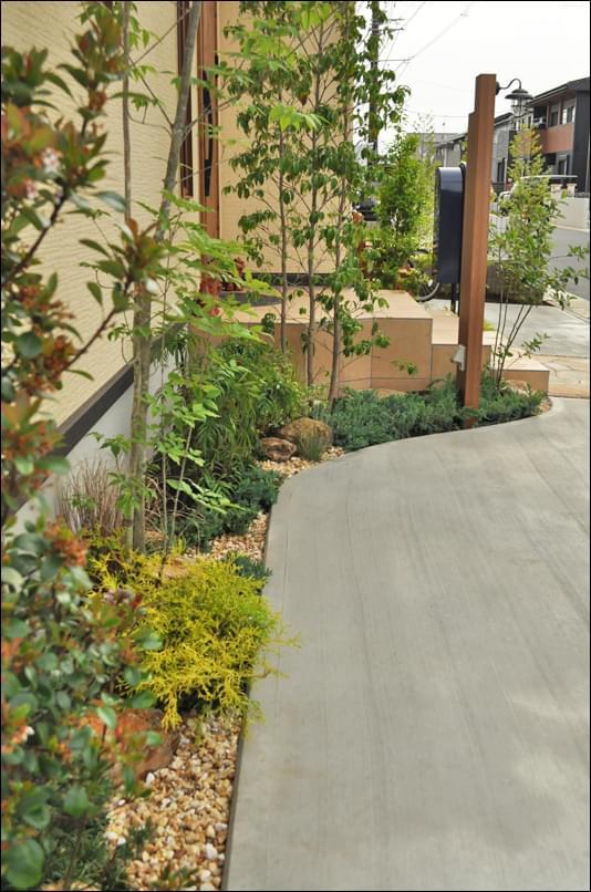 奥行き60cmの空間で作る植栽デザイン
