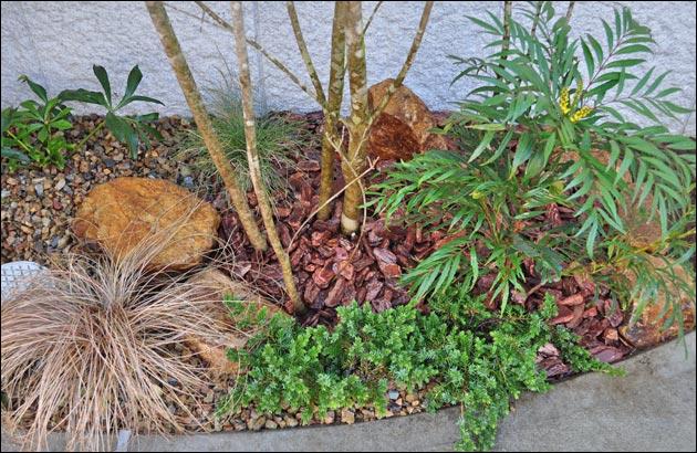 小さな花壇を活かしきる植栽レイアウト