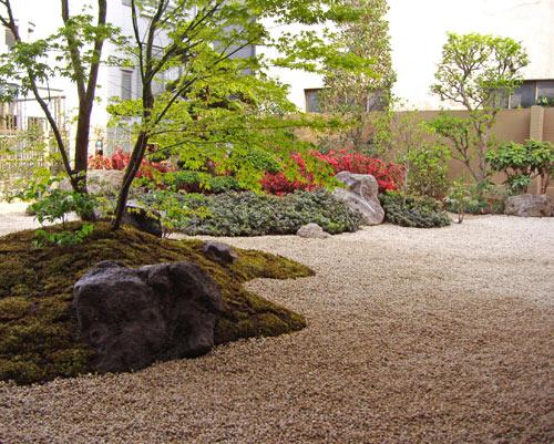 広すぎる面積でも和庭なら自然なデザインに