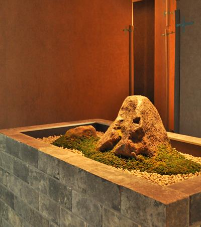 室内に施す和庭デザイン:横浜市クリニック様