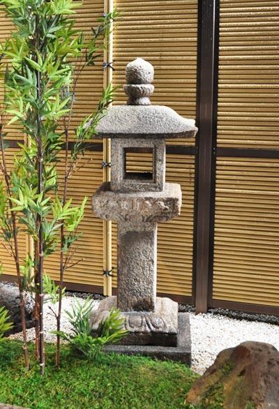 空間美をもたらす人工竹垣