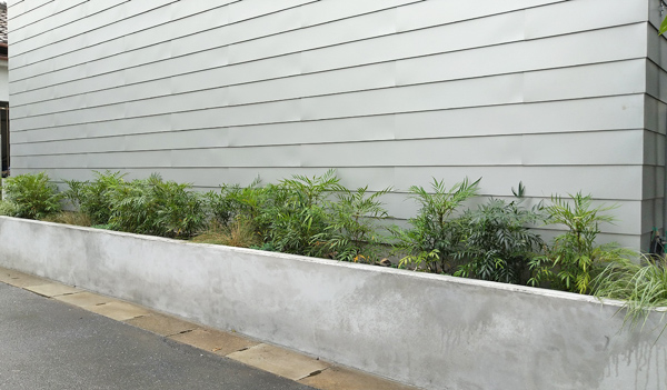 緑が繁茂する様な植栽イメージを