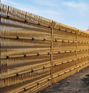 あらゆる垣根様式に対応:写真は大津垣タイプ