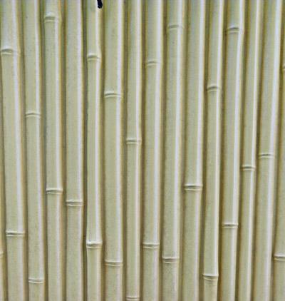 隙間の無い人工竹垣パネル