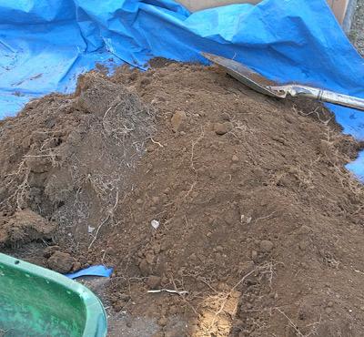 残土処分費や用土類